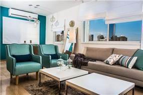 סלון רטרו - מודרני, Inside Design