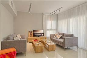 סלון בסגנון צעיר ומודרני, Inside Design