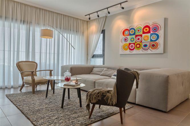 סלון מודרני, Inside Design