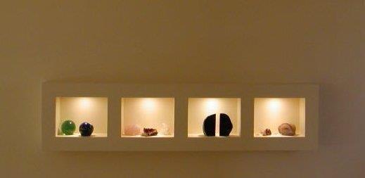 נישות גבס - נורית זעירי אדריכלים