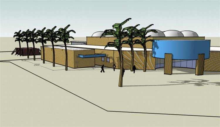 מבנה ציבור, הדמייה - נורית זעירי אדריכלים