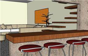 פינת אוכל - סתיו פרטוש- אדריכלות ועיצוב
