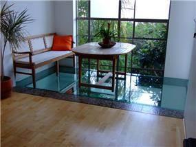 פינת ישיבה לנוף - אסנת ברוקמן-אדריכלית