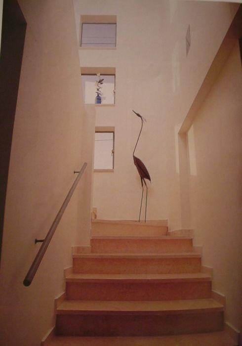 חלל מדרגות - אסנת ברוקמן-אדריכלית