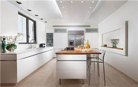 מטבח מודרני מעוצב, מיטל צימבר