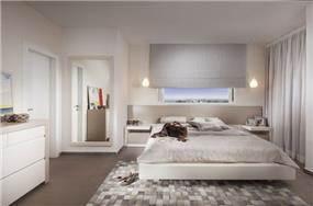 חדר שינה מרשים ורומנטי, מיטל  צימבר
