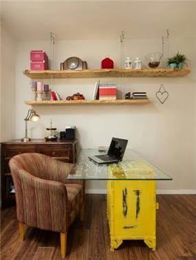 חדר עבודה מעוצב, מיטל צימבר