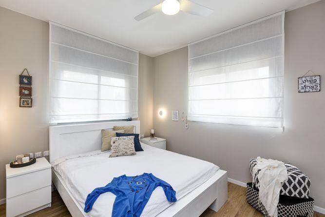 חדר שינה מעוצב, מיטל צימבר