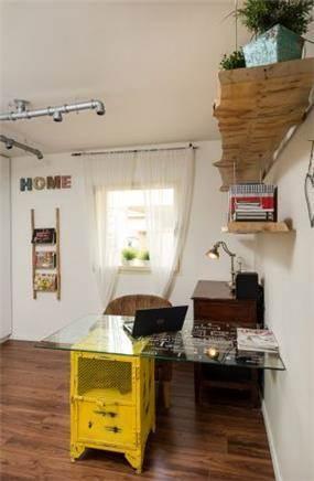 חדר עבודה צעיר ומדליק - מיטל צימבר