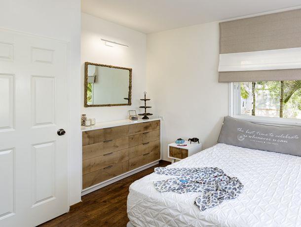 חדר שינה בעיצוב מיטל צימבר