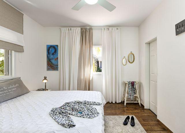 חדר שינה מהודר בעיצוב מיטל צימבר