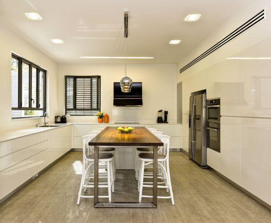 מטבח בעיצוב מודרני, מטבחים רם-אור