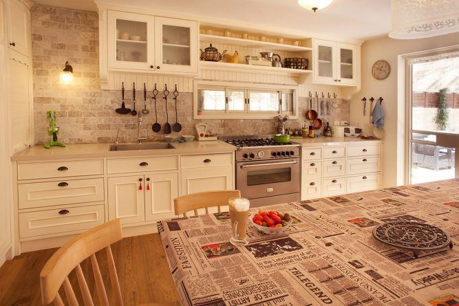 מטבח כפרי, קרן אילן אדריכלות ועיצוב בתים