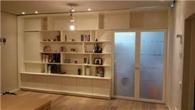 ספריית קיר לסלון, Lavichy, לביצ'י נגרות אומנותית