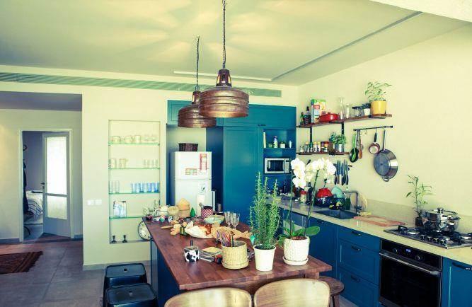 מטבח בעיצוב כפרי, Lavichy לביצ'י נגרות אומנותית