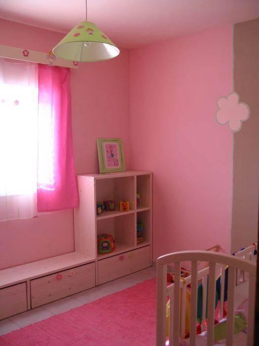 חדר תינוקות מעוצב ורוד- גליה ברקוביץ', עיצוב פנים ואדריכלות