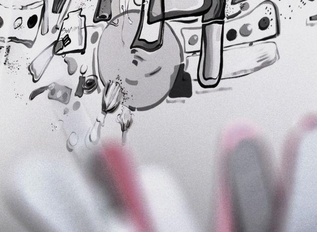 סטודיו לאיפור, בנימינה, LConcept, עיצוב פנים לוסי לשנסקי, לנה סמטנין
