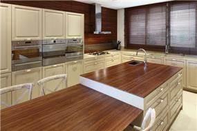 מטבח בשילוב עץ, מיי קיטצ'ן, My Kitchen