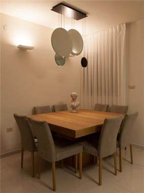 פינת אוכל מעוצבת, סטודיו ארוקוקו - ARococo Interior Design