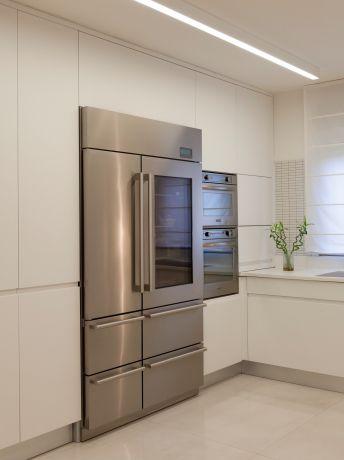 מטבח לבן, סטודיו ארוקוקו - ARococo Interior Design