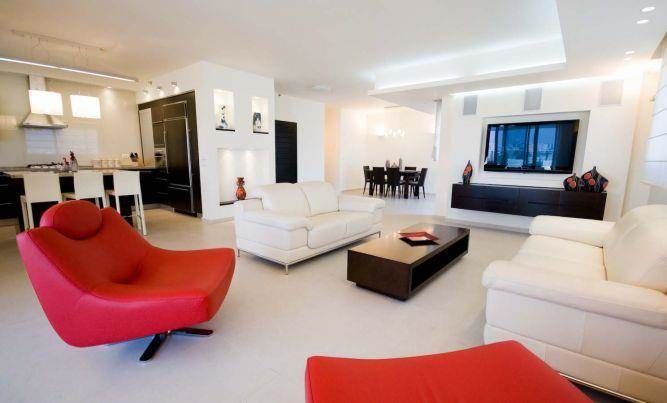 עיצוב סלון, סטודיו ארוקוקו - ARococo Interior Design