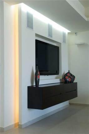 פינת מדיה, סטודיו ארוקוקו - ARococo Interior Design