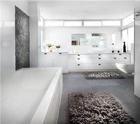אמבטיה, ענבר מנגד - תכנון ועיצוב פנים