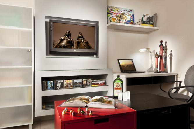 חדר עבודה, ענבר מנגד - תכנון ועיצוב פנים