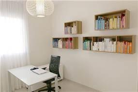 עיצוב חדר עבודה- בן רזניאלי סטודיו לעיצוב פנים