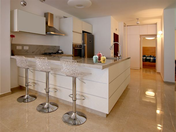 עיצוב מטבח - סטודיו בן רזניאלי