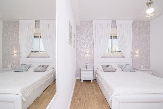 עיצוב חדר שינה- בן רזניאלי סטודיו לעיצוב פנים