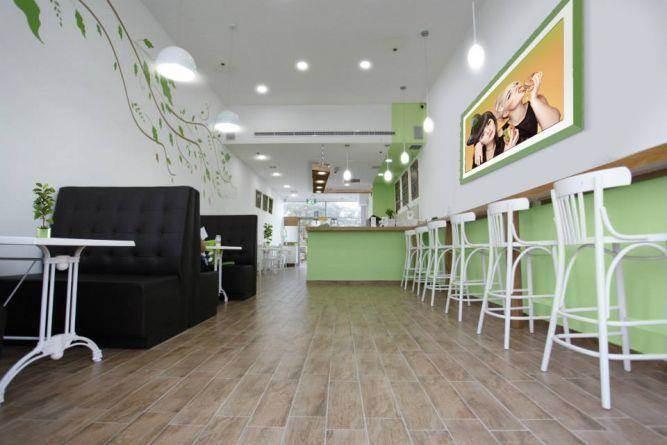 עיצוב בית קפה- בן רזניאלי סטודיו לעיצוב פנים