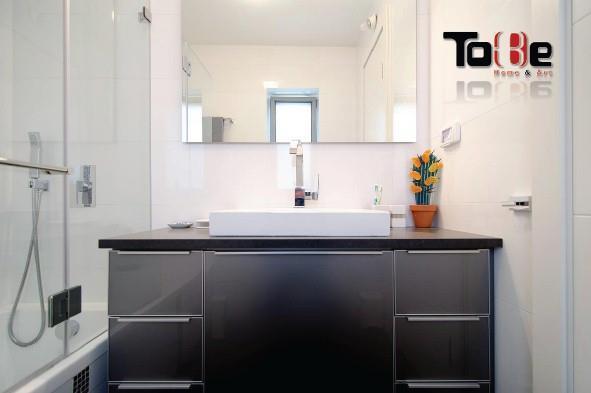 ארון אמבטיה עם חזית קורילק, טובי מטבחים