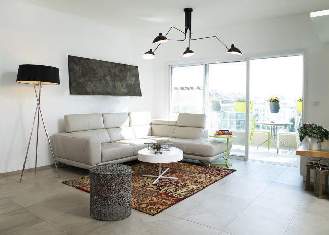סלון מעוצב,  עמית ישראל עיצוב a.i.design studio