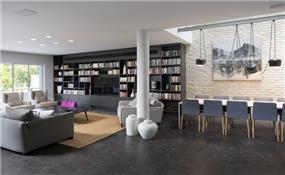 ספרייה רחבת ידיים, בטש מעצבים