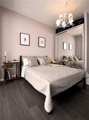 חדר שינה מבט לכניסה, דיאנה סטארק- אדריכלות ועיצוב פנים
