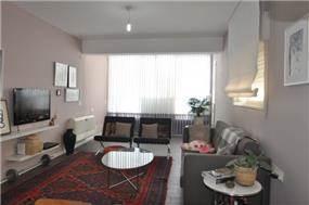 מבט אל הסלון, דיאנה סטארק- אדריכלות ועיצוב פנים
