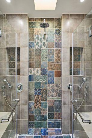 חדר אמבטיה מעוצב - ברברה ברזין