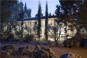 חזית בית בשרון- בי אדריכלים