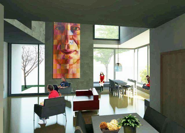 סלון בנהריה- בי אדריכלים