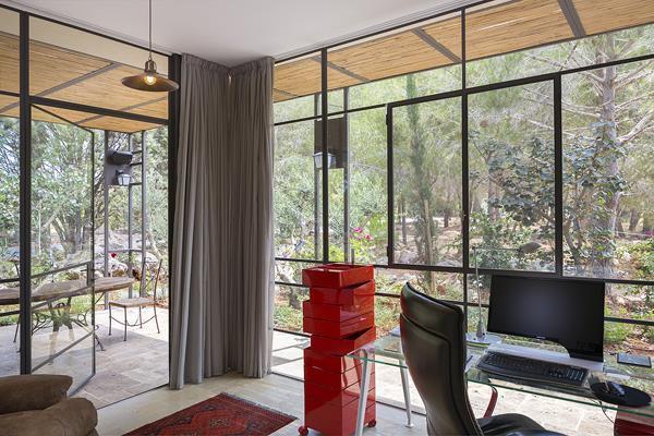עיצוב חדר עבודה- בי אדריכלים