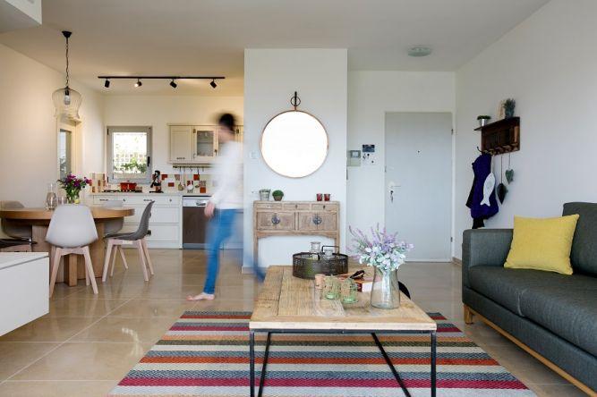 עיצוב דירה ברחובות- מעין גבאי, עיצוב ותכנון פנים