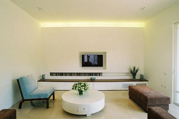 בית פרטי, רמת השרון, סלון - תעוז אדריכלות ועיצוב פנים