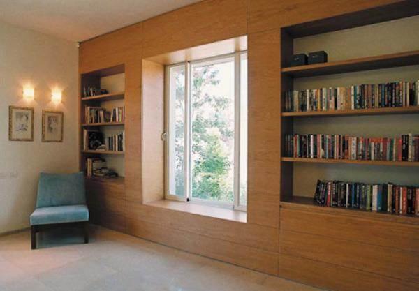 בית פרטי, רמת השרון, ספרייה - תעוז אדריכלות ועיצוב פנים