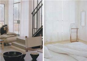 בית פרטי, כפר אביב,חדר שינה וסלון - תעוז אדריכלות ועיצוב פנים