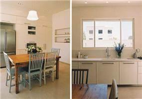 בית פרטי, רמת השרון, מטבח ופינת אוכל - תעוז אדריכלות ועיצוב פנים
