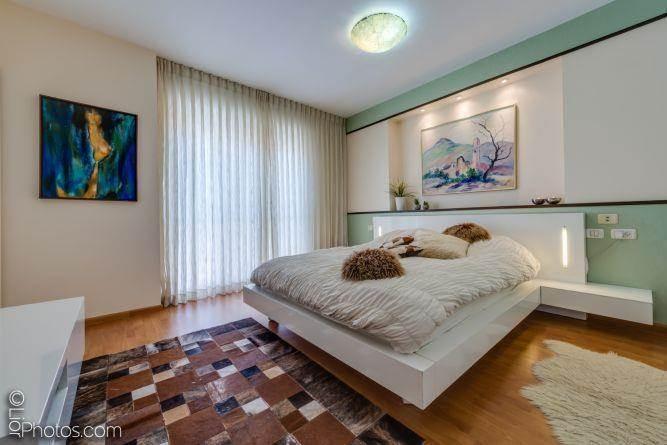 חדר שינה מעוצב- איילת שבו אדריכלות ועיצוב
