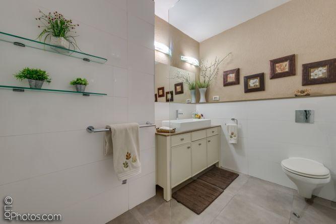 חדר רחצה מעוצב- איילת שבו אדריכלות ועיצוב