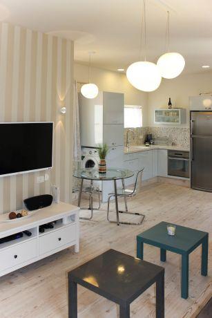 עיצוב דירת נופש בתל אביב- ענבל קרקו, עיצוב פנים ופנג שואי