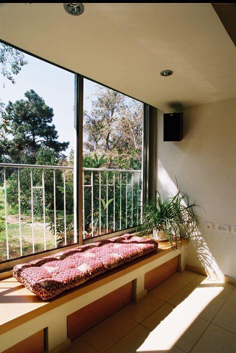 מרפסת חמימה - הילה קרן-שטיינמץ אדריכלות ועיצוב פנים